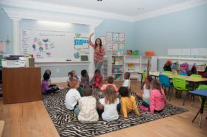 Private Christian Kindergarten Class Between Burlington and Greensboro NC